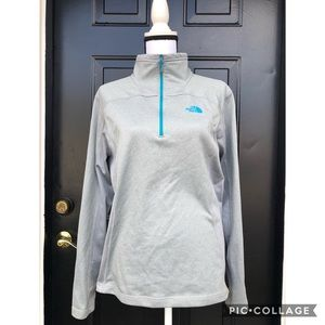 Men's Northface zippered pullover Small